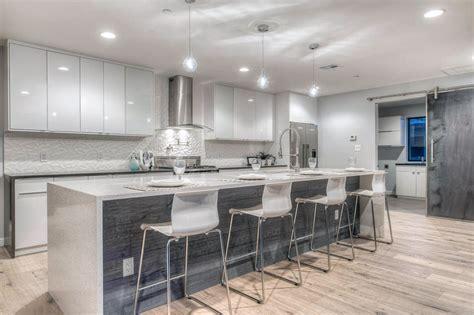 beautiful waterfall kitchen islands countertop designs