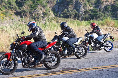 Suzuki Vs Yamaha by 2017 Kawasaki Z650 Vs Suzuki Sv650 Vs Yamaha Fz 07