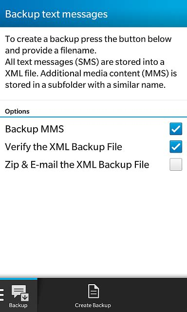 sms backup backup  restore text messages blackberry