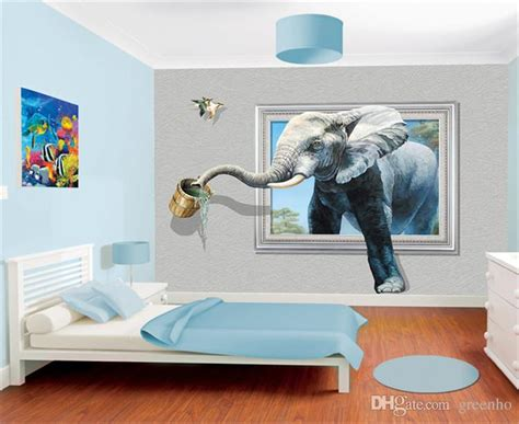 creative  photo wallpaper wall mural elephant animal