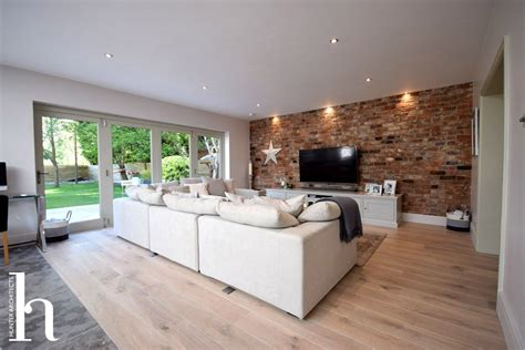 Living Room Extensions by Contemporary House Extension Riba Architects In Altrincham