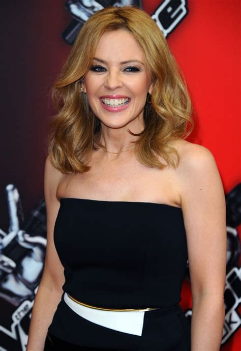 KYLIE MINOGUE at The Voice UK Launch in London – HawtCelebs