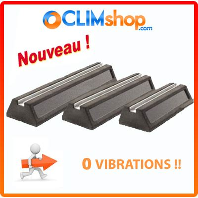 bureau de liaison support anti vibratile rubber pour climatisation en