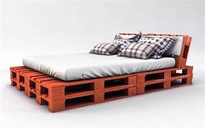 Bett Aus Holzpaletten : palettenbett bauen ganz einfach hier 2 praktische ~ Michelbontemps.com Haus und Dekorationen
