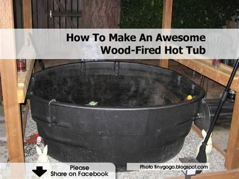 awesome wood fired hot tub outdoor tub