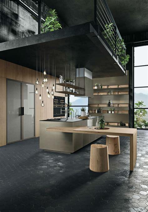 opera industrial kitchen  island  handles