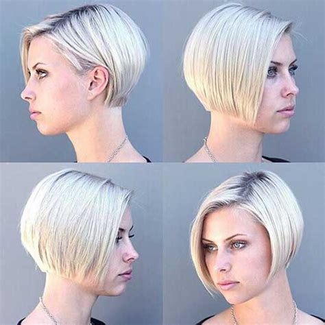 bangs blunt short blonde the best short hairstyles for
