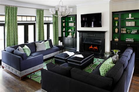 white and green living room 21 green living room designs decorating ideas design Modern
