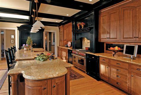 oak and black kitchen cabinets honey oak kitchen cabinets kitchen traditional with black