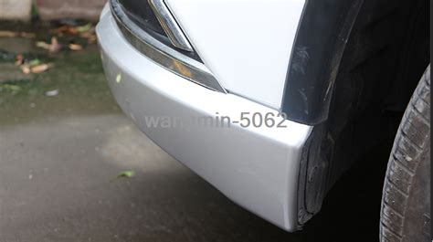 abs front bumper lip corner cover trim