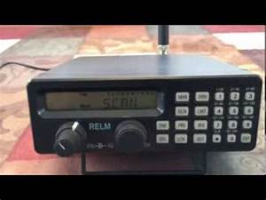 Relm MS-200 Radio Scanner Overview - YouTube
