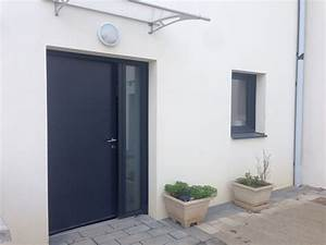 isolation confort porte d39entree en aluminium dans le With porte de garage coulissante jumelé avec porte blindée 5 points