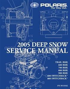 2005 Polaris 800 Rmk 151 Snowmobile Service Repair Manual