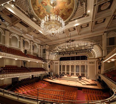 It serves as the home for the cincinnati ballet, cincinnati symphony orchestra, cincinnati opera, may festival chorus, and the cincinnati pops orchestra. Cincinnati Music Hall - EverGreene