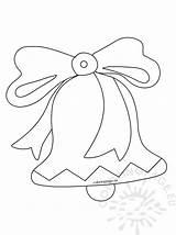 Bells Outline Coloring sketch template