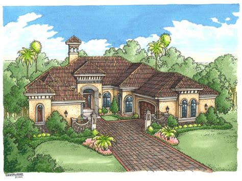 luxury home mediterranean style house plans most luxurious