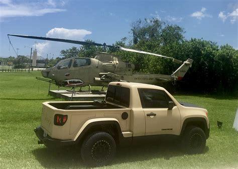 jeep renegade turned   mini comanche pickup truck