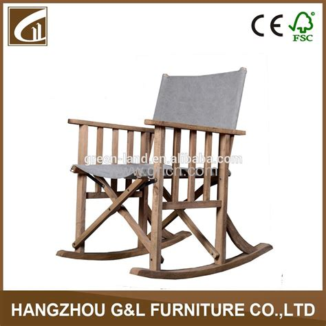 wholesale cheap solid wood folding chair rocking chair