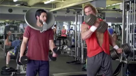 muscle mike  hearn funny bodybuilder commercial