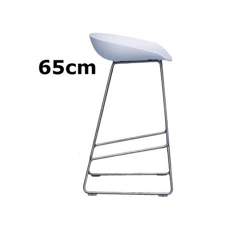 barhocker 65 cm sitzhöhe hay about a stool barhocker aas 38 65cm wei 223 hee welling object designprodukte kaufen