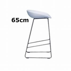 Barhocker 65 Cm : hay about a stool barhocker aas 38 65cm wei hee welling object designprodukte online kaufen ~ Markanthonyermac.com Haus und Dekorationen