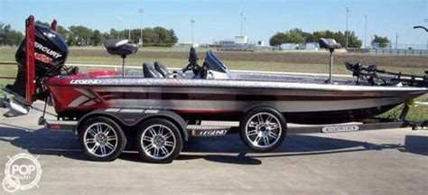 Legend Boats Price by 2013 Used Legend Alpha 211 Bass Boat For Sale 54 995