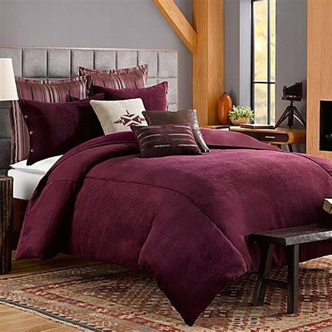 Chenille Duvet Cover by Solid Chenille Duvet Cover In Purple Bed Bath Beyond