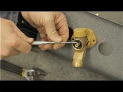 fixing faucets   repair  leak   frost proof