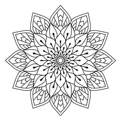 This free svg cut file comes in a single zip file with the following file formats: Floral mandala Vector   Free Download