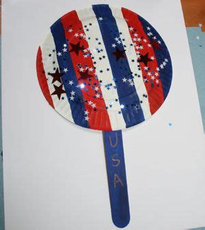 4th of july preschool crafts white and blue fan craft http www allkidsnetwork 118