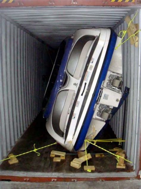 Boat In A Shipping Container by Overseas Boat Shipping In Container Carex Shipping