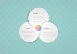 Venn Diagram Background Psd