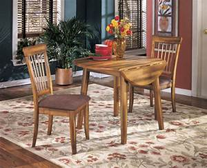 Transitional, 42, U0026quot, Drop, Leaf, Dining, Table, In, Medium, Brown