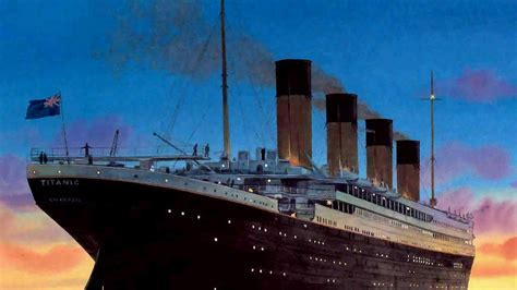 Titanic The Boat Sinking by Titanic Sinking Wallpaper 183