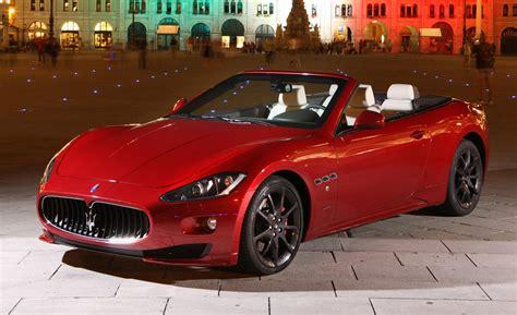 maserati red convertible maserati granturismo 2015 convertible image 129