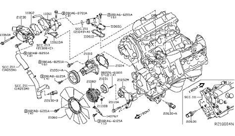 nissan pathfinder engine diagram auto electrical