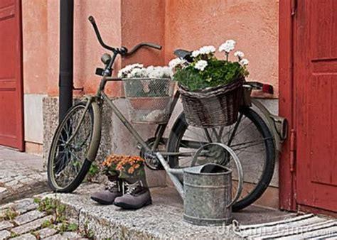 Gartendeko Fahrrad by Gartendeko Selber Machen Fahrrad Als Pflanzk 252 Bel