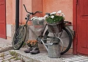 Gartendeko Rost Selber Machen : gartendeko selber machen fahrrad als pflanzk bel garten und terrasse ~ Orissabook.com Haus und Dekorationen