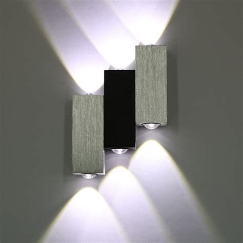 modern 6w high power up l wall fixture wall lights