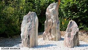 Runde Flache Steine Kaufen : s lker marmor soelker quellstein ~ Michelbontemps.com Haus und Dekorationen