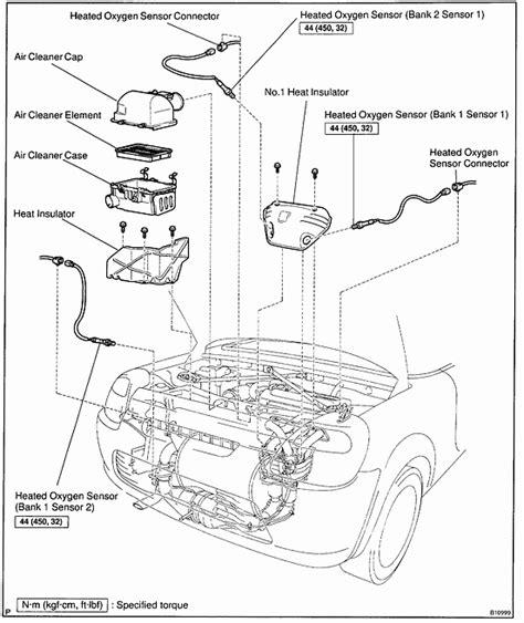 Hvac System Diagram 1991 Toyotum Mr2 by Toyota Mr2 O2 Sensor Replacement
