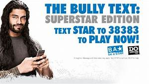 WWE & DoSomething.org are Taking on Bullying for a Second ...
