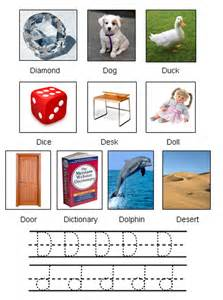 Objects That Start with Letter D