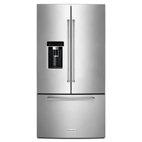 kitchenaid refrigerator door kitchenaid 36 in w 23 8 cu ft door refrigerator