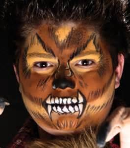 Halloween Werewolf Face Paint