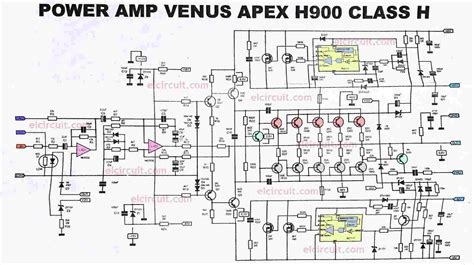 power lifier apex h900 efficient flat and powerful electronic circuit