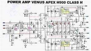 Class H Amplifier Circuit Diagram
