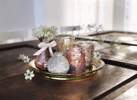 Dekoration Mit Kerzen 2 by Deko Tablett Candlelight Vases 6tlg Fr 252 Hling In