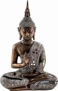 Buddha Bilder Gemalt : home affaire dekofigur buddha online kaufen otto ~ Markanthonyermac.com Haus und Dekorationen