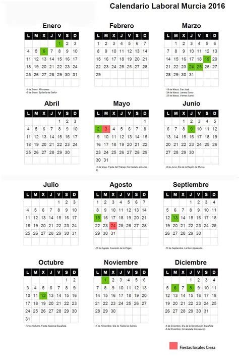 calendario laboral asesoria aseryde